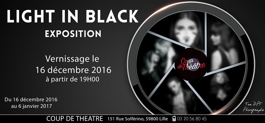 "Exposition ""Light In Black"""